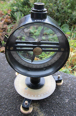 Vintage Phillip Harris Vertical Dip Compass Physics Birmingham
