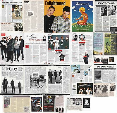NEW ORDER : CUTTINGS COLLECTION -interviews-