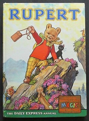Rupert Annual 1964..original...not Inscribed Or Clipped...magic Paints Untouched