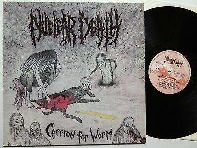 NUCLEAR DEATH - Carrion for Worm LP 1991 Wild Rags near mint