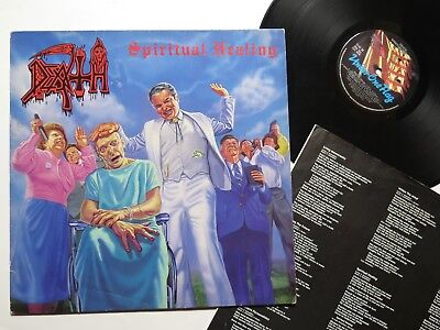 DEATH - Spiritual Healing LP 1990 ORIG. FLAG 38 ** used