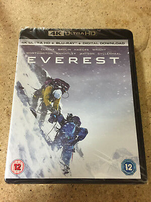 Everest 4K Ultra Hd Premium Uhd Blu-Ray Brand New Sealed - Uk Seller