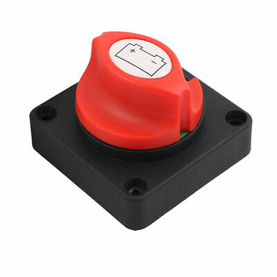 Battery Disconnect Isolator Master Rotating Cut Off Switch f Boat Car Vehicles