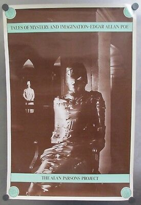 1976 The Alan Parsons Project - Tales Of Mystery And Imagination Promo Poster