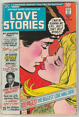 DC 100-PAGE SPECTACULAR 5 (LOVE STORIES 1971) RAREST DC Giant; G/VG 3.0