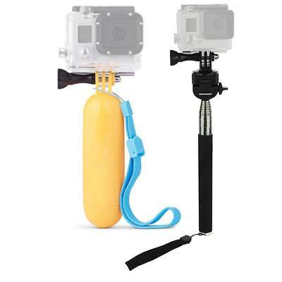 Floating Pole Grip Handle Monopod for GoPro HERO4/3/2 Sports Action Camera