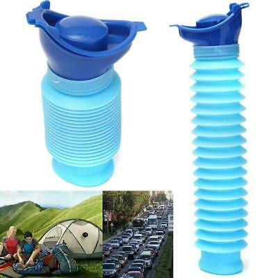 Travel Male Female REUSABLE Camping Car Pee Urinal Urine Toilet 750ml ON SALE S