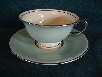 Castleton Turquoise Cup and Saucer Set(s)