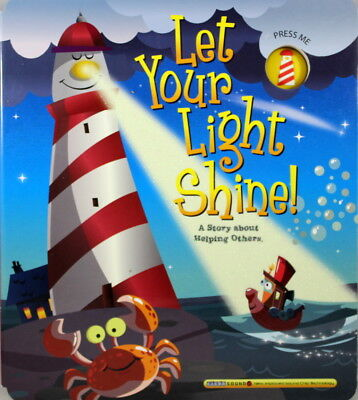 Let Your Light Shine Book NEW Board BOOK Story About Helping Others