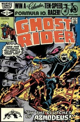 Ghost Rider (1st Series) #64 1982 FN Stock Image