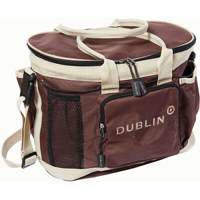Dublin Imperial Unisex Horse Care Grooming Bag - Chocolate One Size