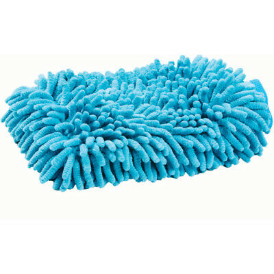 Roma Microfibre Wash Unisex Horse Care Grooming Mitt - Blue One Size