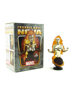 Bowen Designs Frankie Raye Nova Mini Bust Gold Chrome Marvel Sample 725/1000 New