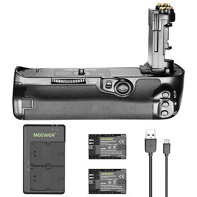Neewer Battery Grip with 2 Batteries and Charger for Canon 5D Mark IV