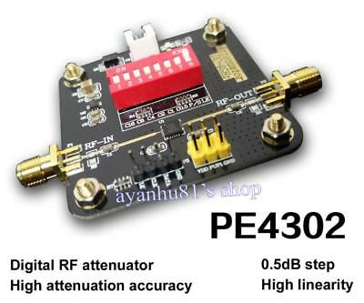 PE4302 Digital RF Step Attenuator Module High Linearity 0.5dB 50-ohm  DC-4000Mhz