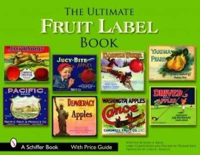 Ultimate Fruit Label book Crate Advertisement Acme MORE