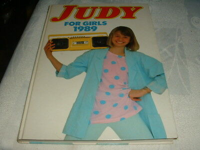 """VINTAGE  """"JUDY FOR GIRLS"""" annual for 1989"""