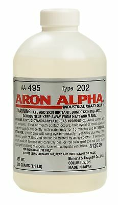 Aron Alpha Type 202 (100 cps viscosity) Regular Set Instant Adhesive 500 g (1.1