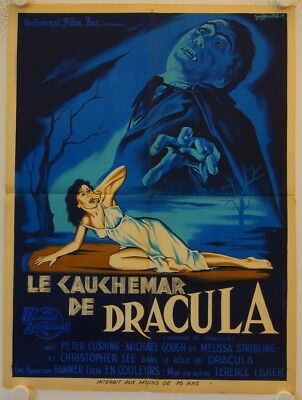 Horror of Dracula original release french movie poster