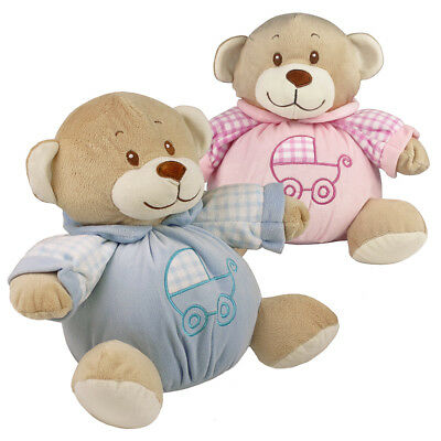 """10"""" My First Baby Plush Teddy Bear with Internal Rattle for Newborn Babies Soft"""