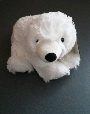 Intelex Warmies Cozy Microwaveable Lavender Scented Soft Toy. Polar Bear