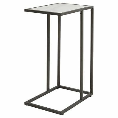 New tesco antique brass effect metallic wire frame side table new harris marble effect table top lamp coffee tablesofa table watchthetrailerfo