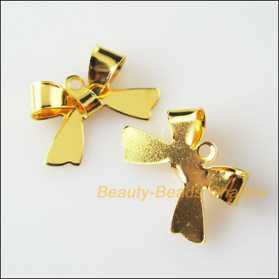 25 New Connectors Gold Plated Animal Butterfly Charms Pendants 11x16mm