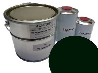 7 Liter Set 2K Autolack Jaguar 609 British Racing Green kein Klarlack Farbe !