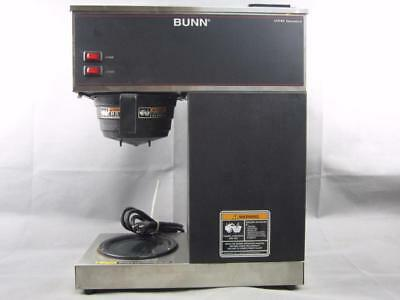 USED Bunn VPR 12 Cup Pourover Coffee Brewer with 2 Warmers 120V No Decanter