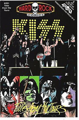 Hard Rock Comics #5  KISS: Tales from the Tours (1992)  V/NMF  2nd Print