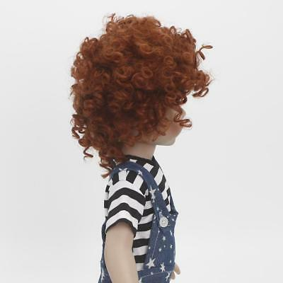 6cm Short Curly Hair Wig Hairstyle for 18'' American Girl Dolls DIY Making