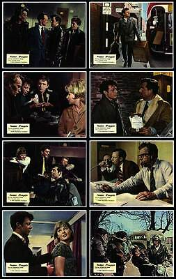 SOME PEOPLE orig lobby card set RAY BROOKS/DAVID HEMMINGS 11x14 movie posters