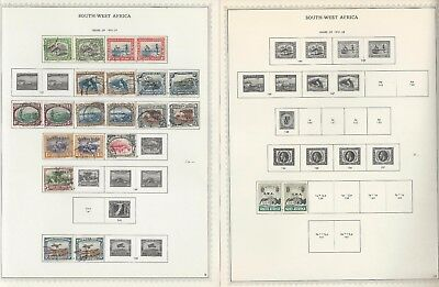 South West Africa Collection 1923-1972 on 19 Minkus Specialty Pages