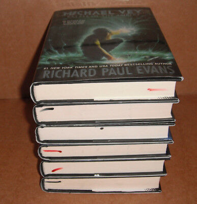 Michael Vey Bk. 1,2,3,4,5,6 by Richard Paul Evans  Hardcover NEW