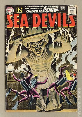 Sea Devils #5 1962 GD/VG 3.0