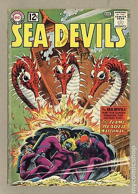 Sea Devils #6 1962 GD+ 2.5