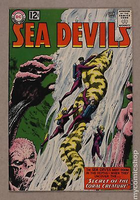 Sea Devils #9 1963 GD+ 2.5 Low Grade