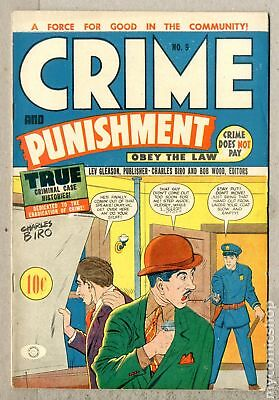 Crime and Punishment Canadian Edition #9 1948 FN+ 6.5