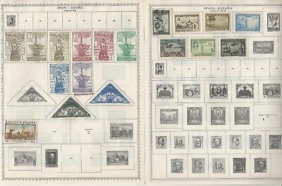 Spain & Colonies Collection 1850-1968 on Minkus Global Pages, About 40 Pgs