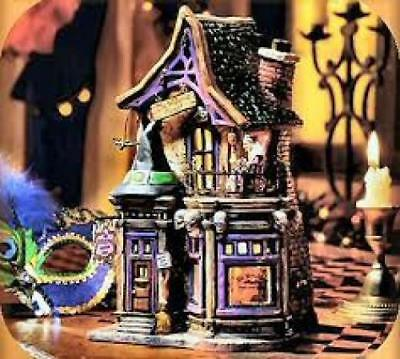 Dept 56 Snow Village Be Witching Costume Shop 30Th Anniv Xmas 54604 Halloween