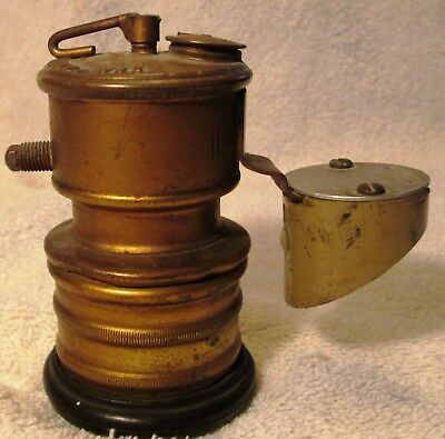 Premier British Made Carbide Miners Lamp FREE SHIPPING!