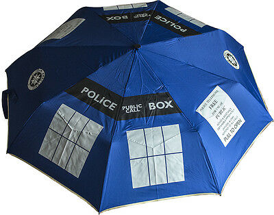 DOCTOR WHO - Tardis Umbrella - Large 107cm (Ikon Collectables) #NEW
