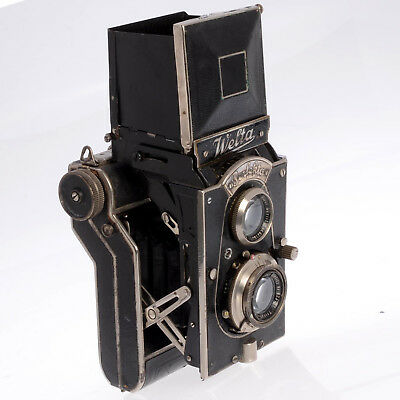 Welta Perfecta - Rare Working 120 Film Collectible Folding TLR - Germany 1934/5