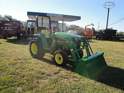 Very Nice John Deere 3032E  4X4  Tractor Loader Only 76  Hours