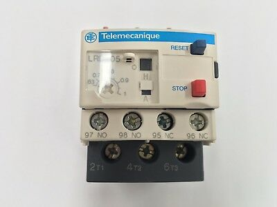 Telemecanique Lrd05 Overload Relay .63-1A