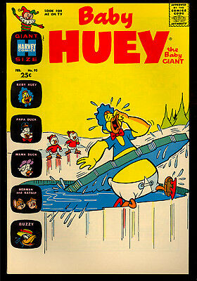 Baby Huey the Baby Giant #93 High Grade Harvey File Copy Giant 1971 NM
