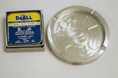 DoAll Employee Personal Lot of Barlow Tape Measure and CNC Made Ashtray