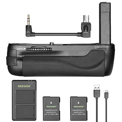 Neewer Battery Grip with 2 Li-ion Batteries and Charger for Nikon DF DSLR Camera