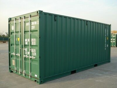 HIRE RENT NEW 20ft SHIPPING CONTAINER ***SECURE, DRY STORAGE***