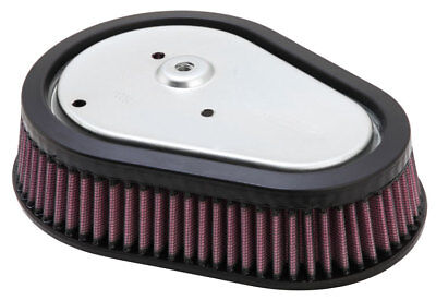 Kn Air Filter Replacement For H/D Dyna Model Screamin' Eagle Element; 08-12